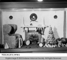 Christmas Cakes Displayed at L.S. Ayres Department Store, 1937