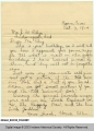Letter, 1914, Hearne, Texas to...