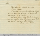 Letter, 20 March 1879, Lew...