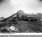 Railroad Freight Cars Being Filled with Coal at the Maumee Colliery Company