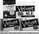Champagne Velvet Beer Advertising
