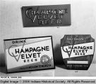 """Champagne Velvet"" Beer Advertising"
