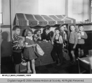 Children Playing Grocery Store at the Indiana State Training School