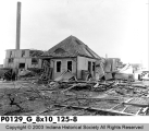 Buildings Hit by Tornado March 24, 1913
