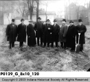 Breaking Ground for the Building of the Masonic Temple