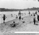 Broad Ripple Park Beach Scene