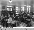 Children in Classroom at Sunnyside Sanitarium Tuberculosis Hospital, Marion County, Indiana