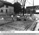 Children Gardening at Public School No. 9
