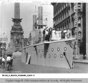 Model of a Battleship, War Savings Campaign, Monument Circle
