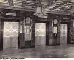 Circle Tower Lobby and Elevators, 1930
