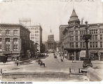 View Up West Market Street, Indianapolis, 1914