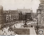 1918 View of Southwest Quadrant of Monument Circle
