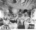 Cascade Room at the Columbia Club, 1935