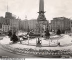 Monument Circle Christmas Decorations, 1958