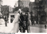 General Foch with Wreath at Monument Circle