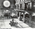 Union Station Grand Hall Interior with Wheel Window