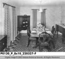 Dining Room of Model Home, 1931
