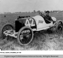 Eddie Rickenbacker in Race Car #42