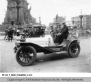 Pope Motor Car on Monument Circle