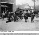 Hose Wagon #20 at Fire Station