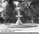 Fountain in Woodruff Place