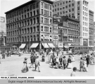 Corner of Illinois and Washington Streets, Indianapolis, 1910