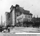 Northwest Corner of Delaware and Market Streets, Indianapolis, 1916
