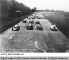 Packard Pace Car Leading the 500 Mile Race
