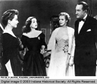Anne Baxter, Bette Davis, Marilyn Monroe, and George Sanders