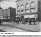Horse Team in Front of Taggart Baking Co.