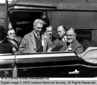 Franklin D. Roosevelt in Car
