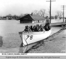Culver Military Academy Boat #75 During the 1937 Flood