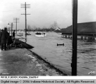 Rescue Boats During the 1937 Flood