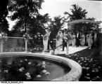 Landon Sisters Wedding at Oldfields Estate in June 1920