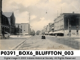 Market St., Looking West, Bluffton, Indiana