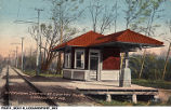 Interurban Station at Country Club, Logansport, Indiana