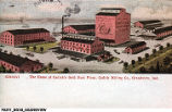 Home of Cadick's Gold Dust Flour, Cadick Milling Co., Grandview, Indiana