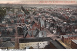 Bird's Eye View of Valparaiso, [Indiana] Looking North