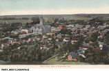 Bird's-Eye View of Rushville, Indiana