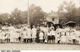 Ye May Day Fete at Carthage Graded School, May 21, 1914
