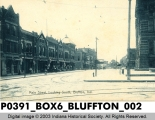 Main Street, Looking South, Bluffton, Indiana