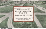 All Roads Lead to the Ripley County Fair, Osgood, Ind., Aug. 6-7-8-9, 1912