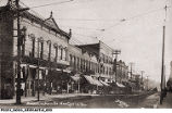 Broad Street, East of Main Street, New Castle, Indiana