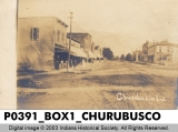 Business District, Churubusco, Indiana