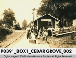 Big Four Station, Cedar Grove, Indiana