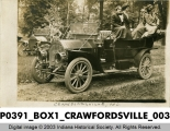 People in Cars, Crawfordsville, Indiana