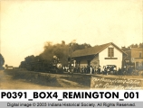 Pennsylvania Station at Remington, Indiana