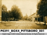Street, Pittsboro, Indiana
