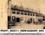 Pioneer Tavern in Days Gone By, New Albany, Indiana