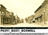 Business Street, Boswell, Indiana